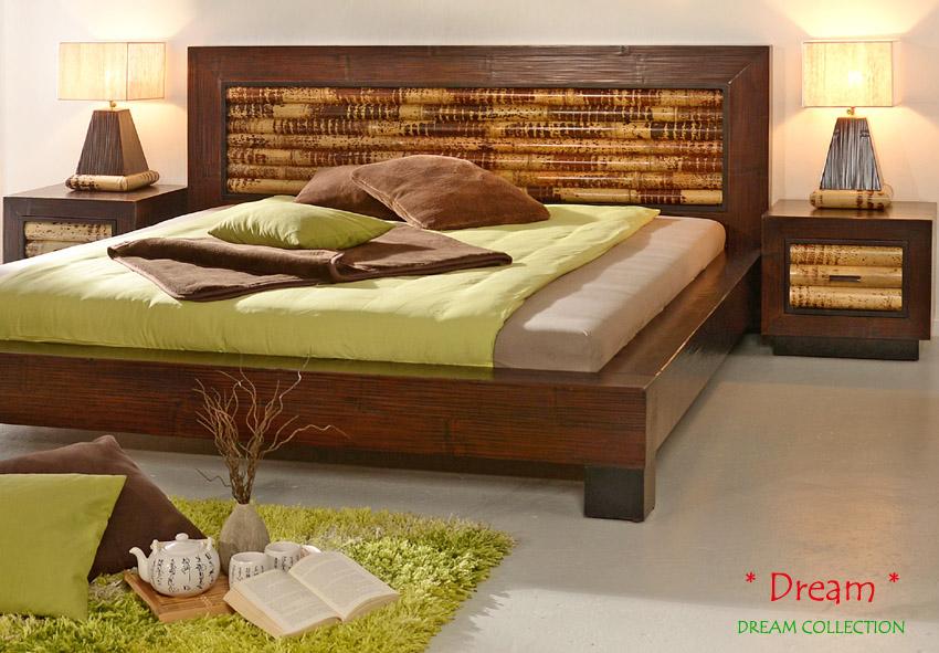 bambusbett 200x220 dream holzbett bettgestell doppelbett bettrahmen futon natur ebay. Black Bedroom Furniture Sets. Home Design Ideas