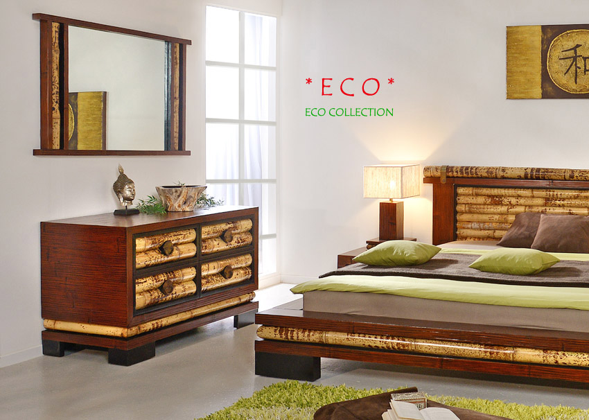 bambusspiegel eco bambusm bel spiegel wandspiegel ankleidespiegel flur garderobe ebay. Black Bedroom Furniture Sets. Home Design Ideas