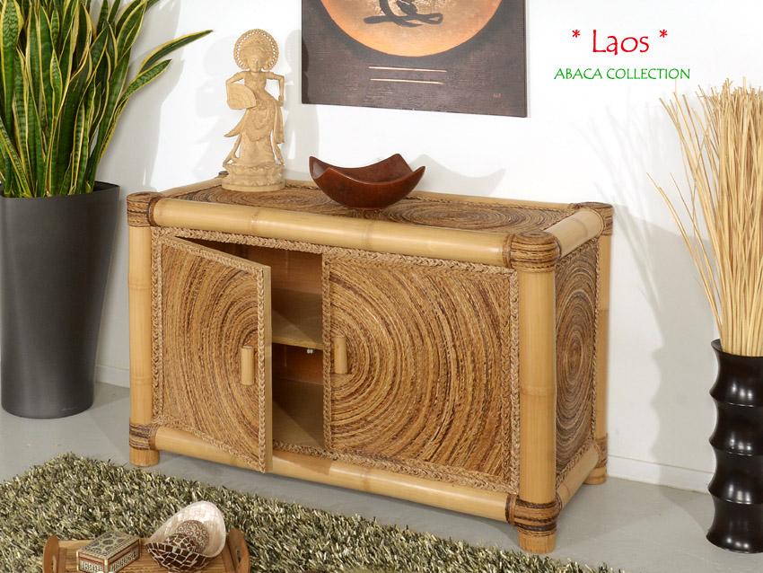 bambus sideboard laos kommode bambusm bel bambusschrank. Black Bedroom Furniture Sets. Home Design Ideas