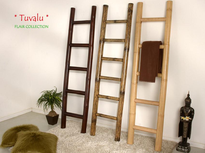 bambus handtuchhalter braun bambusleiter leiter bambusrohr bad garderobe bamboo kirchheim. Black Bedroom Furniture Sets. Home Design Ideas