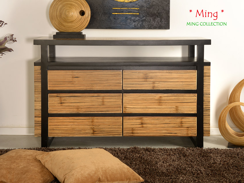 besondere kommode ming bambusm bel schrank bambusbett. Black Bedroom Furniture Sets. Home Design Ideas