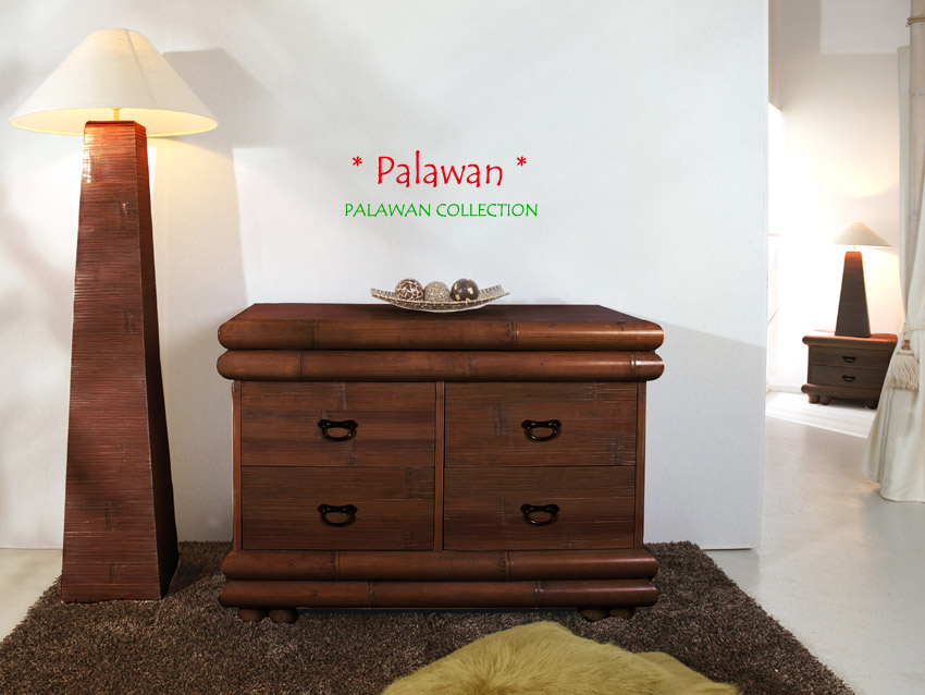 himmelbett 180x200 palawan braun bambusbett afrikanisch holz bett doppelbett neu ebay. Black Bedroom Furniture Sets. Home Design Ideas