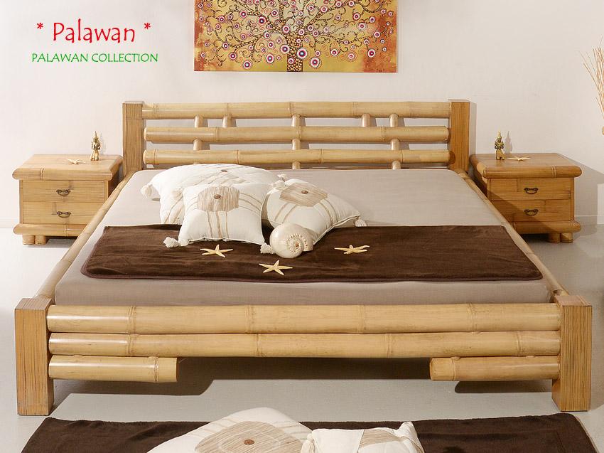 bambusbett 160x200 palawan natur bambusm be l bambus bett. Black Bedroom Furniture Sets. Home Design Ideas