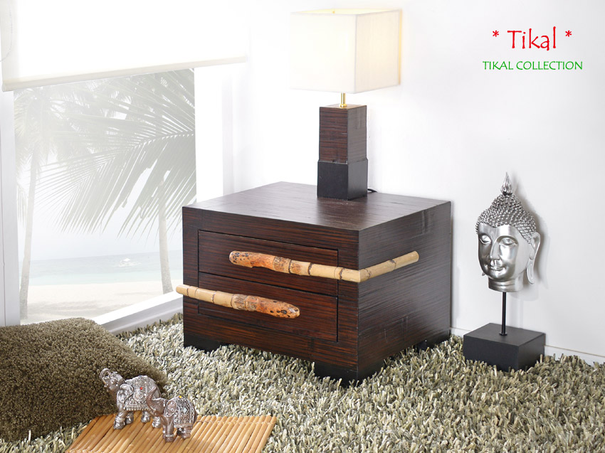bambusbett 160x200 tikal rattan bettrahmen holzbett massiv bettgestell bett neu ebay. Black Bedroom Furniture Sets. Home Design Ideas