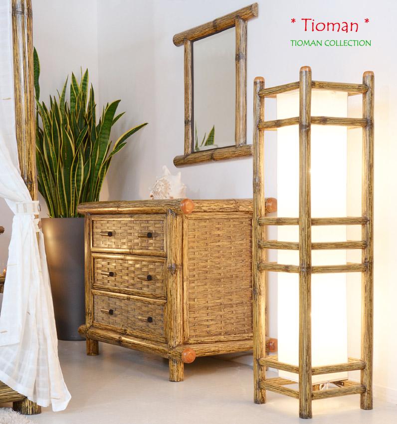 bambusbett 200x220 tioman bettgestell berl nge bettrahmen holzbett wasserbett ebay. Black Bedroom Furniture Sets. Home Design Ideas