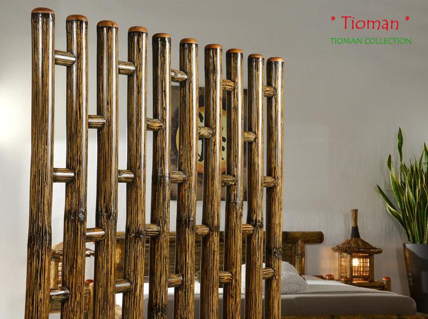 bambus raumteiler tioman trennwand paravent sichtschutz. Black Bedroom Furniture Sets. Home Design Ideas