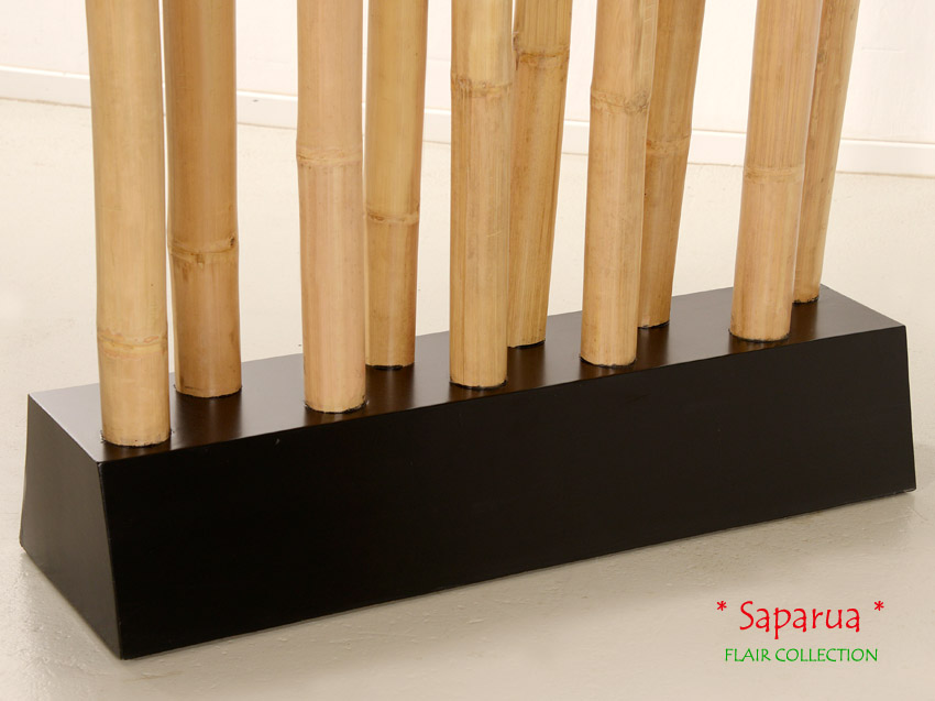 Bambus trennwand natur raumteiler paravent sichtschutz umkleide spanische wand ebay - Trennwand bambus ...