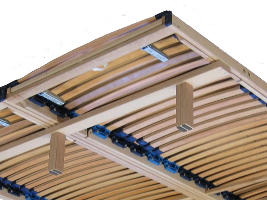 unterbau f r lattenroste 2x querleisten mit f e 140x200. Black Bedroom Furniture Sets. Home Design Ideas