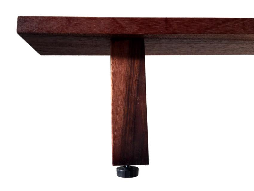 unterbau f r lattenroste f r bett 180x200 2x querleisten mit f e bambusbett ebay. Black Bedroom Furniture Sets. Home Design Ideas