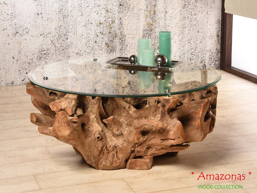 Teak Wurzelholz Tisch Amazonas Dunkel Couchtisch Wohnzimmertisch Holz Beistelltisch Mokule Holzhocker Klein Sitzhocker Relax Stuhl Bank